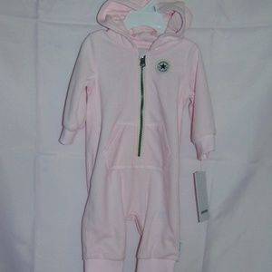 New with tags Converse Fleece Coverall